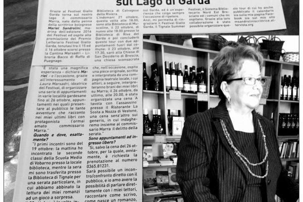 Il tour del commissario Marra sul lago di Garda
