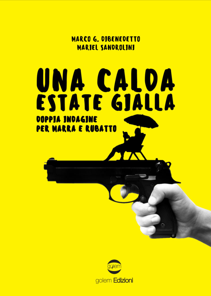 Book Cover: Una calda estate gialla