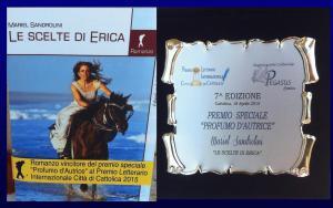 """Premio """"profumo d'autrice"""" Pegasus  Città di Cattolica"""